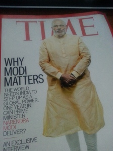 As I end this focus on India, the latest Time magazine arrived in the mailbox.